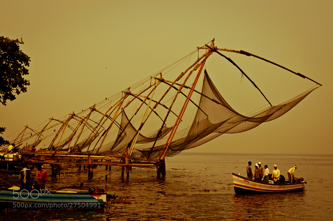 Photograph Chinese fishing nets by Subhash Radhakrishnan on 500px