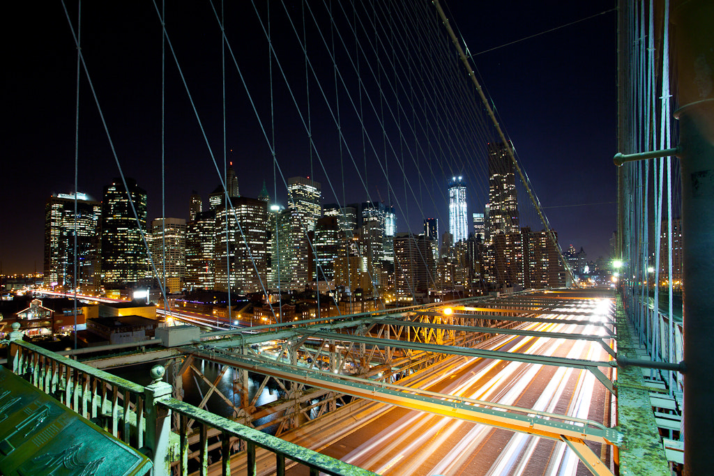 Photograph Brooklyn Bridge - The Fast Lane by Chris Boundey on 500px