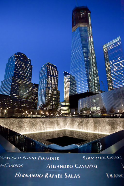 Photograph World Trade Center - South Pool by Chris Boundey on 500px