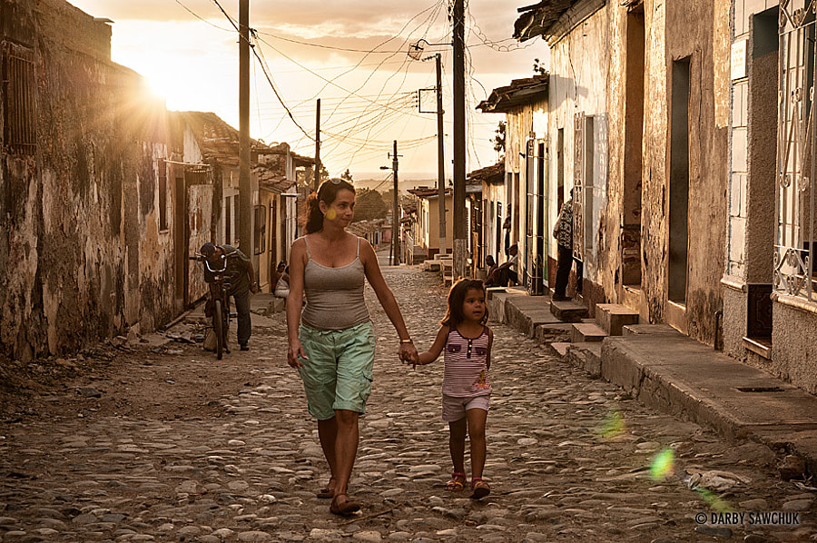 Photograph Mother and Daughter in Trinidad, Cuba by Darby Sawchuk on 500px