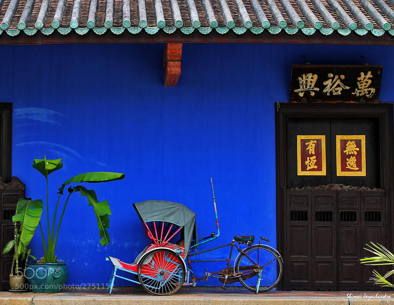 Photograph {memoir of a blue mansion} by Shimai Jayachandra on 500px