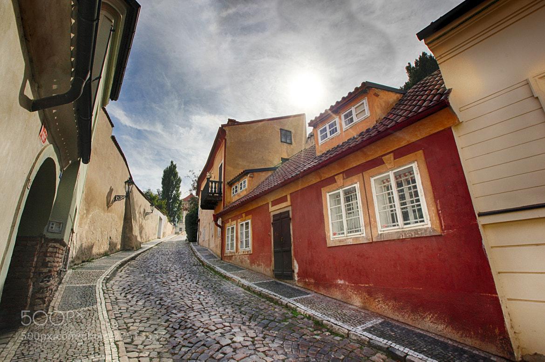 Photograph Golden street in Prague by Constantin Gololobov on 500px