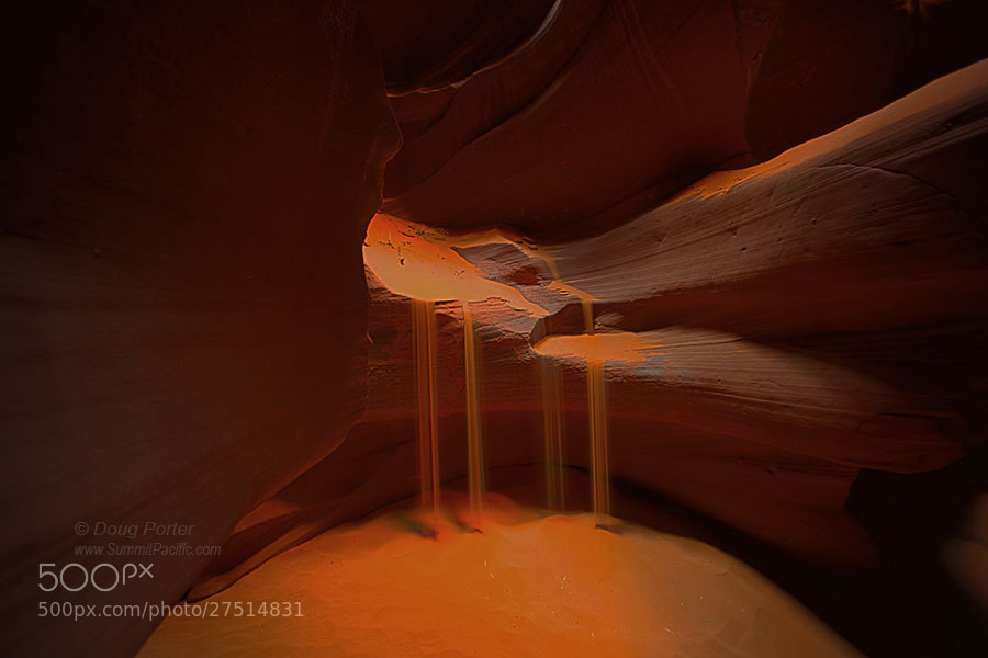 Photograph Sandfall  by Doug Porter on 500px