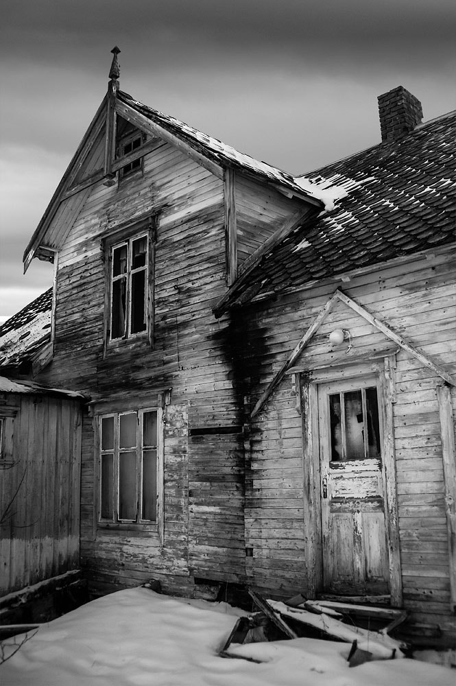 Photograph Ghost house by Frode Abrahamsen on 500px