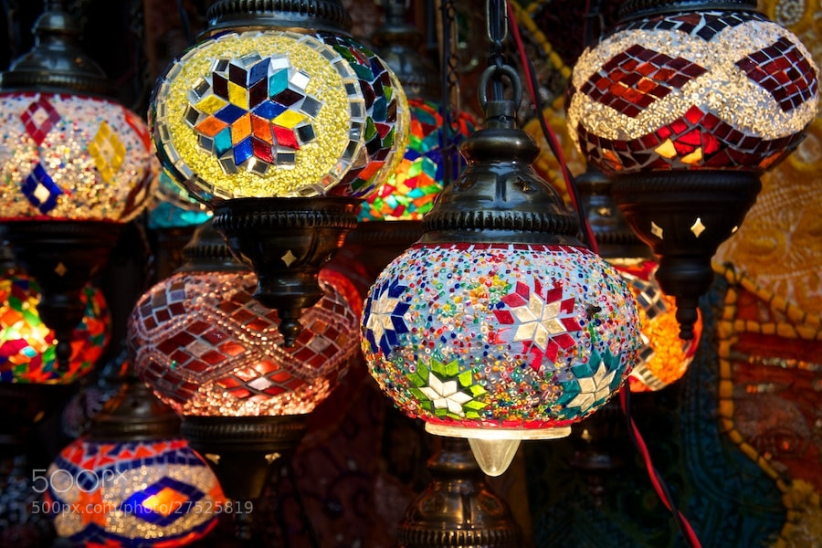 Photograph Arabic Lamps - Dubai UAE by Sean Cheng on 500px