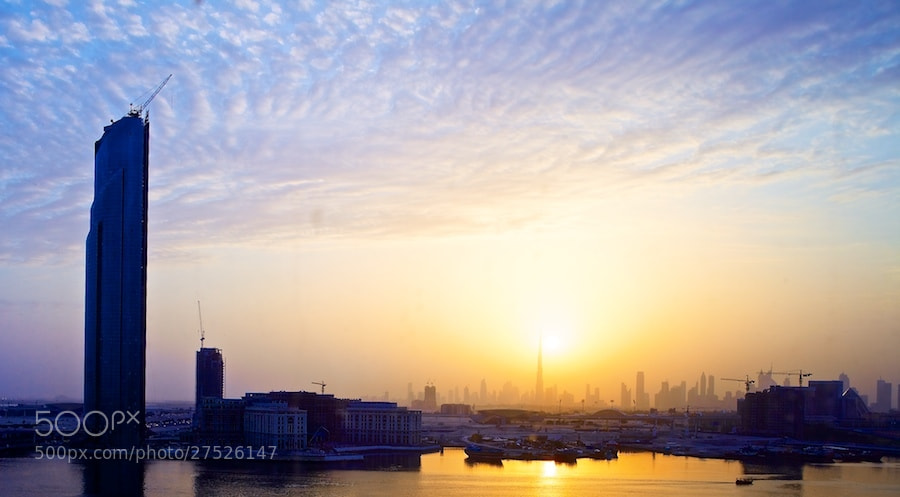 Photograph Dubai Sunet by Sean Cheng on 500px
