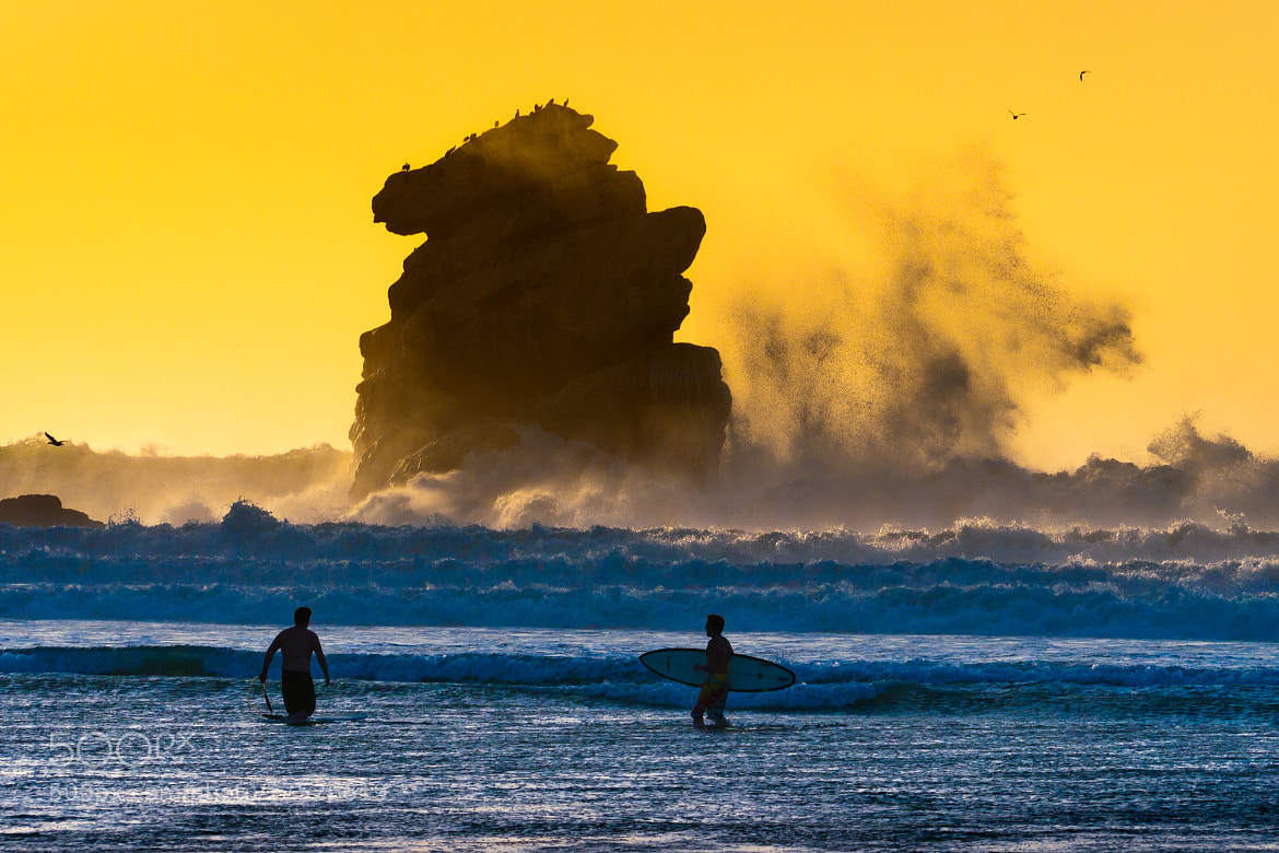 Photograph Morro Bay Surf by Keith Skelton on 500px