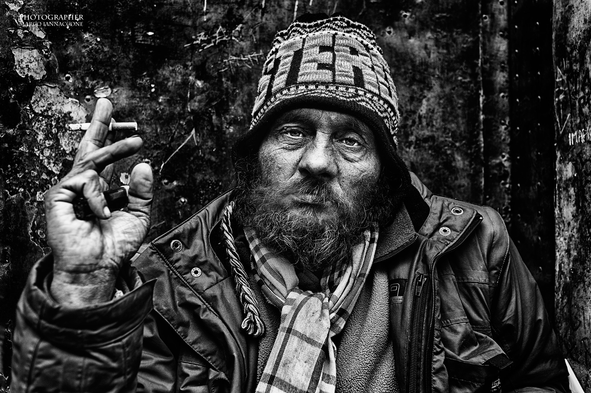 Photograph Homeless by Marco Iannaccone on 500px