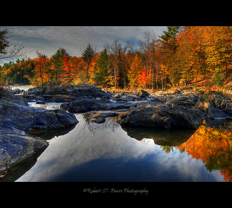 Photograph Canadian Fall Scene by Robert St-Pierre on 500px