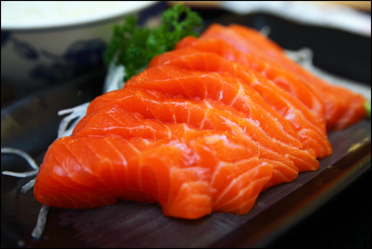 Salmon Sashimi by vkeong on 500px.com