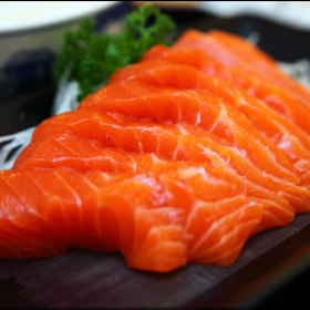 Salmon Sashimi by vkeong ) on 500px.com