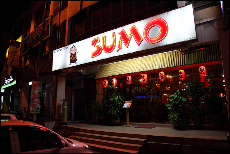 Sumo Japanese Restaurant USJ by vkeong on 500px.com