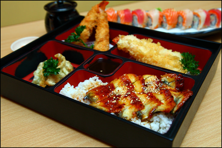 Unagi Bento Set by vkeong on 500px.com