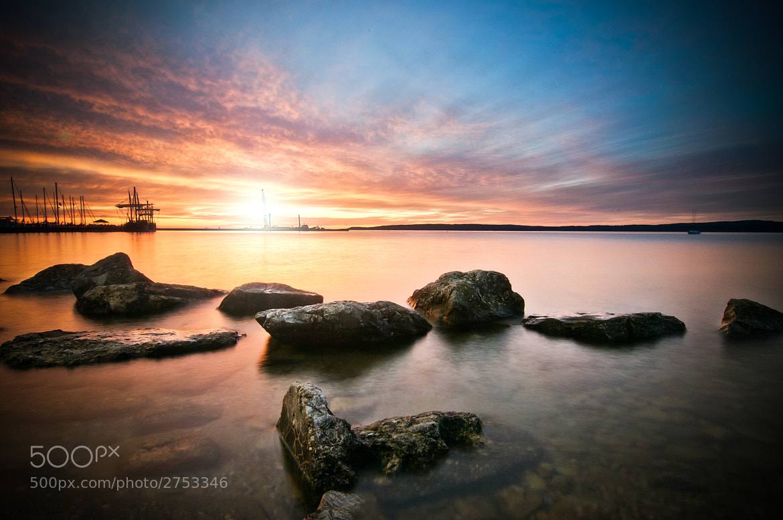 Photograph Sunset On Lake Michigan by Mark Jones on 500px