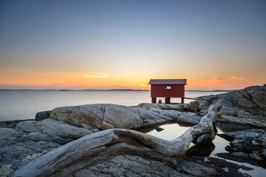 Sunset in Mollösund by Johannes Blümel Photography on 500px.com