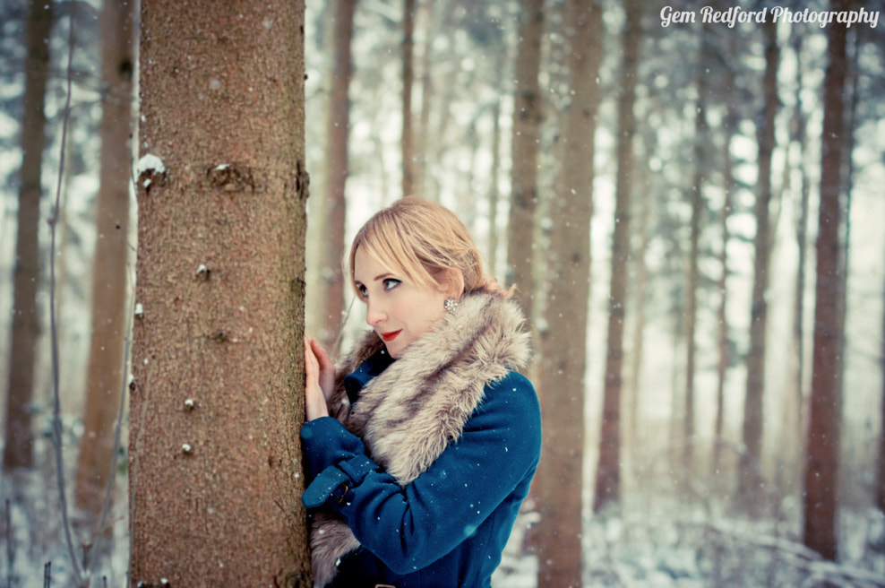Photograph Girl In The Snow by Gem Redford Photography on 500px