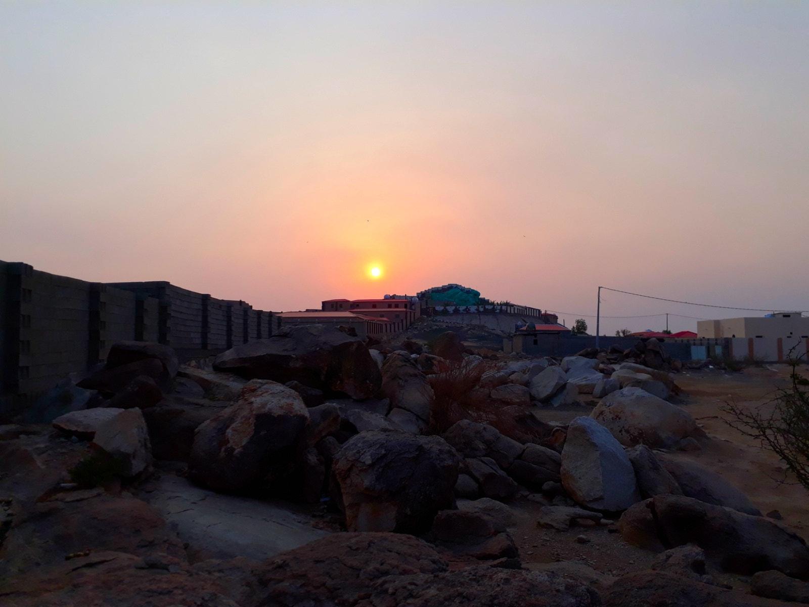 Sunset of Makkah
