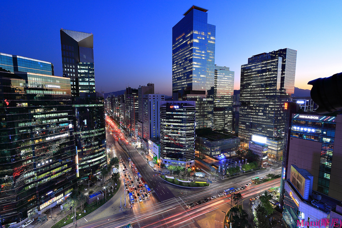 Photograph Gangnam Street in Seoul by Jiman JUNG on 500px