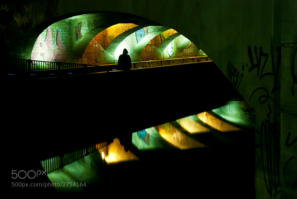 Photograph Under the bridge by Tor R. on 500px
