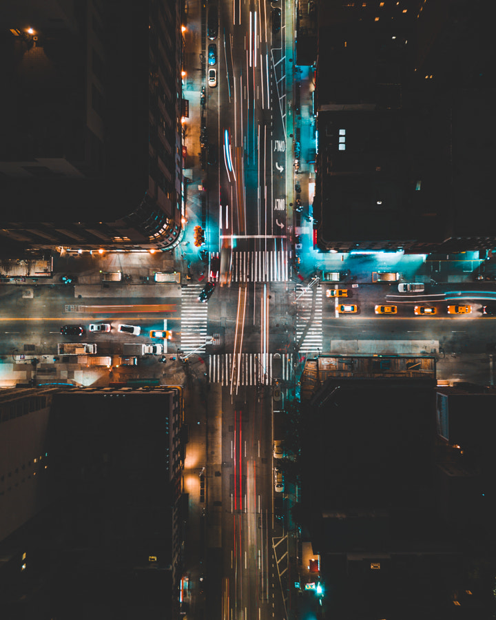 View of 14th Street and 6th Ave From Above by Brandon Blattner on 500px.com