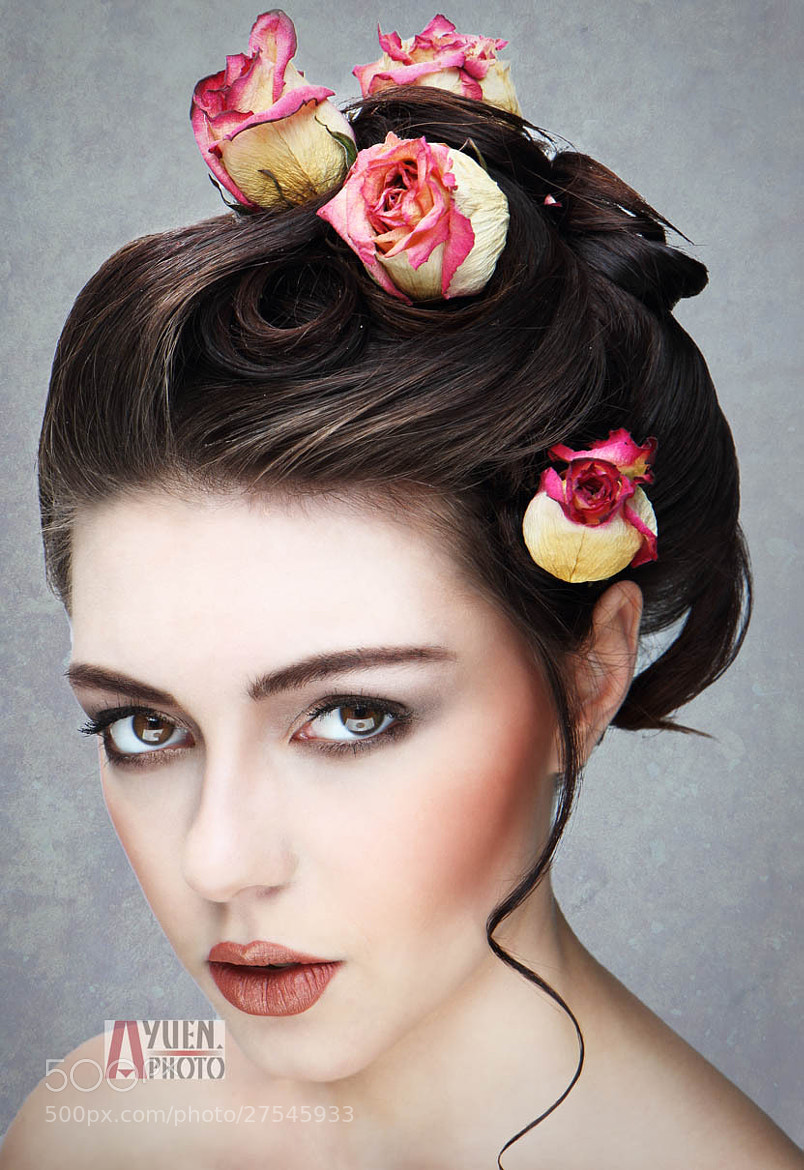Photograph Flower Beauty Face by Anthony Yuen on 500px