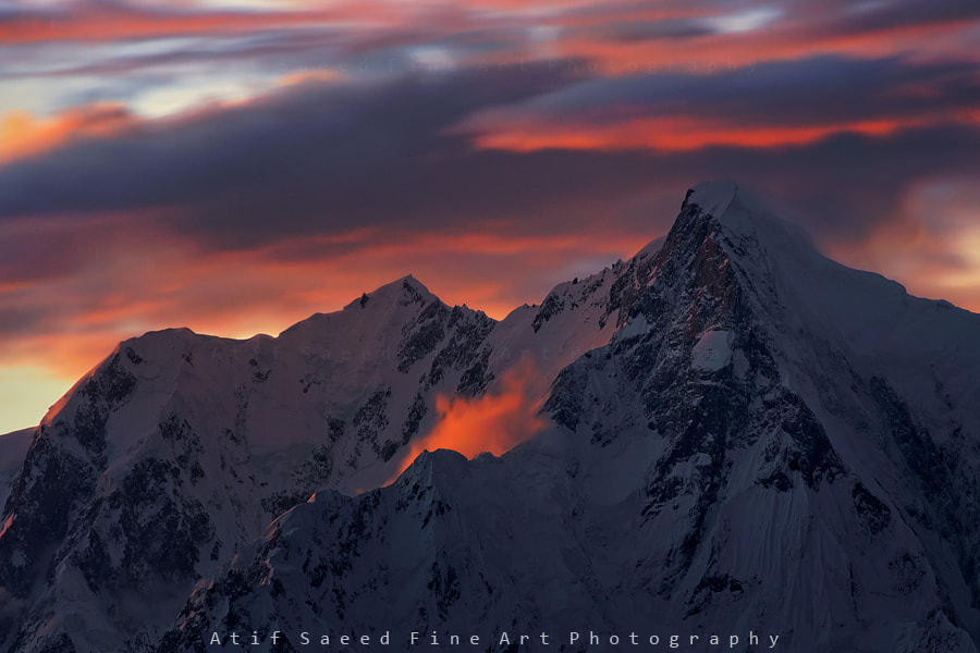 Photograph Mount Ultar 7388M.. by Atif Saeed on 500px