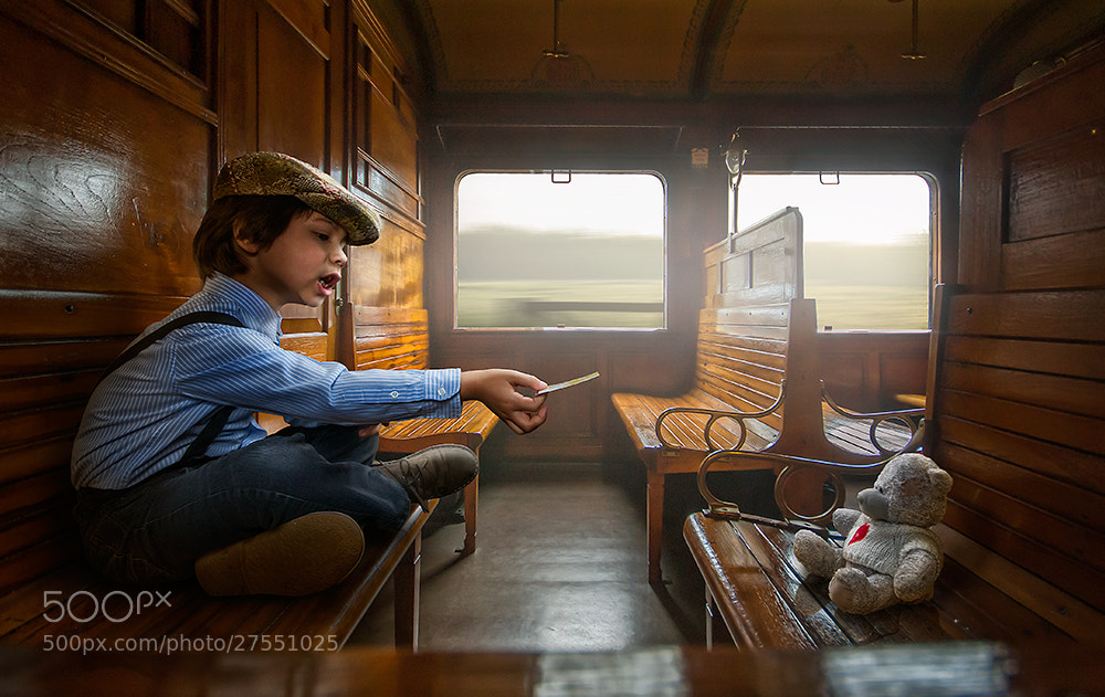 Photograph Traintrip by Adrian Sommeling on 500px