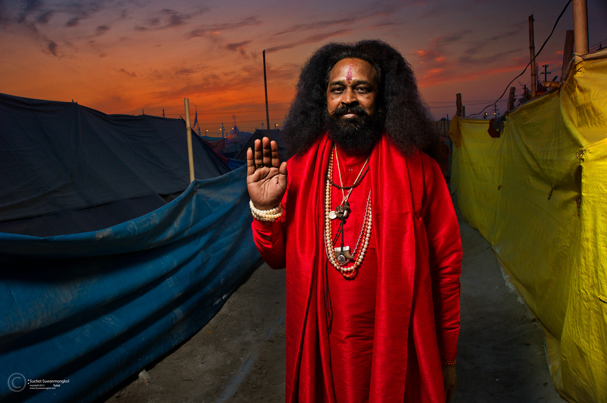Photograph Maha Kumbh Mela 2013 by Suchet Suwanmongkol on 500px
