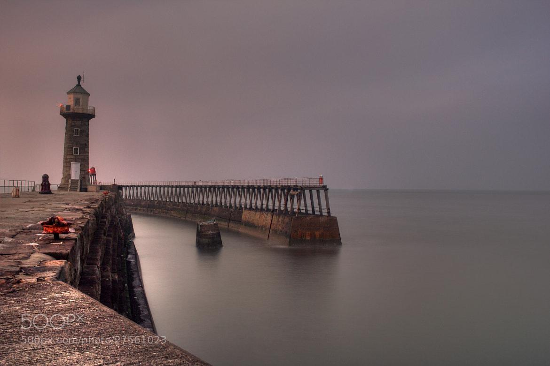 Photograph Whitby Pier Twilight by Joel Harratt on 500px