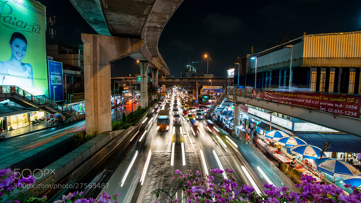 Photograph Bangkok Traffic by Stian Rekdal on 500px
