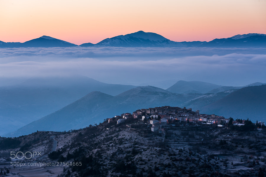 """<a href=""""http://www.hanskrusephotography.com/Landscapes/Abruzzo/13585309_QfrsNG#!i=2395545112&k=nPpcWFT&lb=1&s=A"""">See a larger version here</a>  This photo was taken during research for a winter photo workshop in Abruzzo February 2013."""