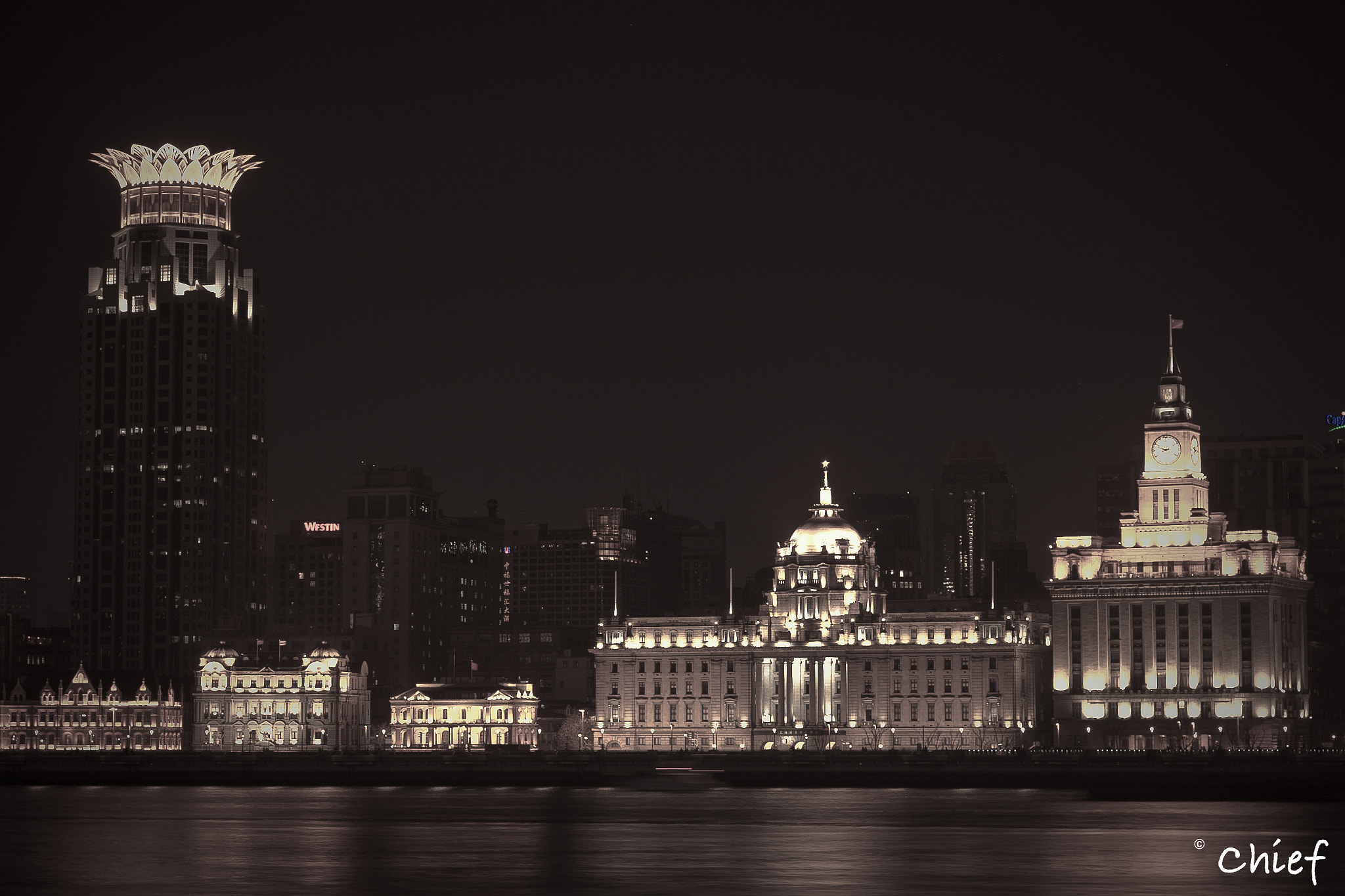 Photograph The Bund at Night by Victor Murstig on 500px