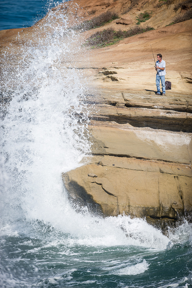 Photograph Rock Fishing by Paul Todd on 500px