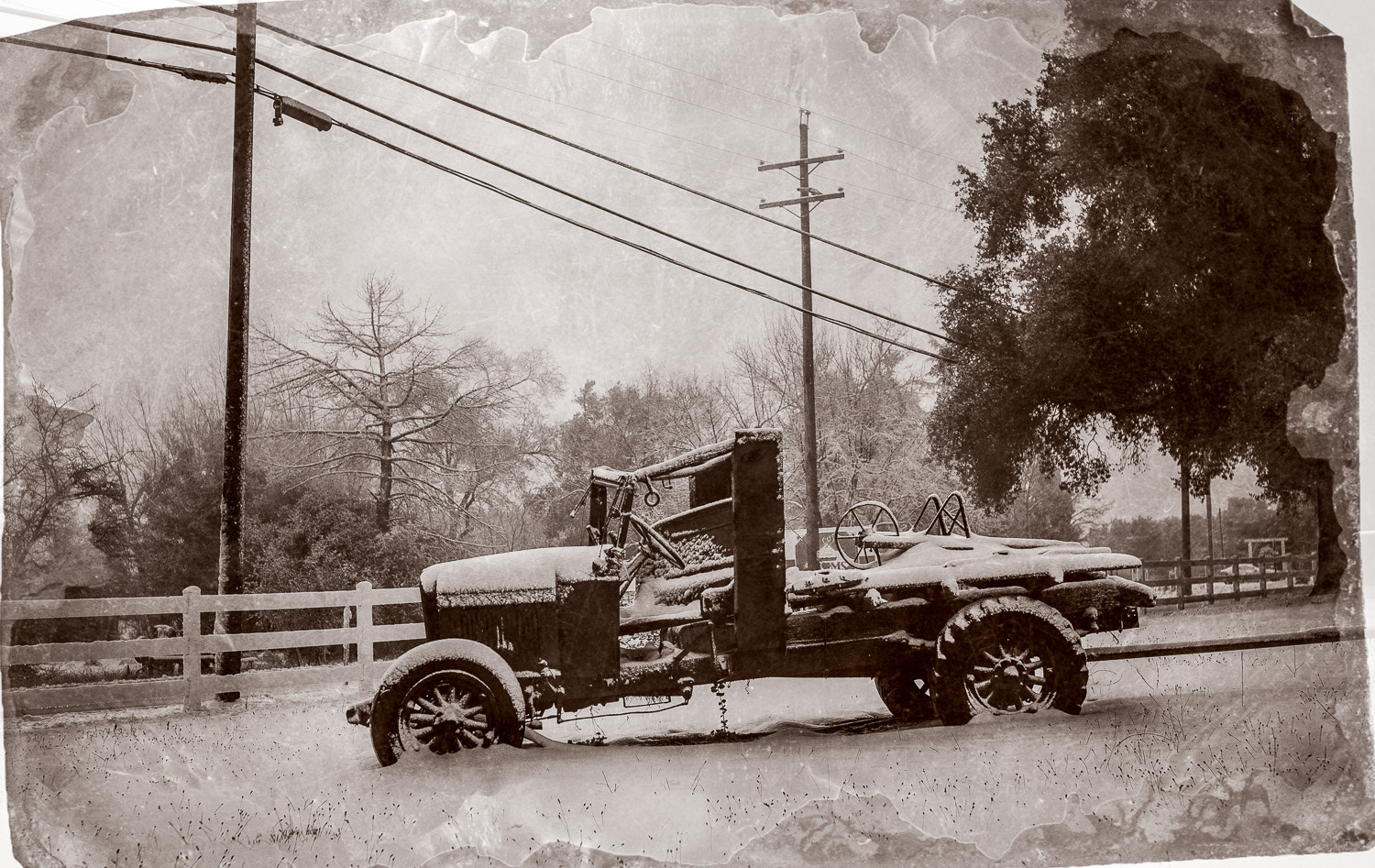 Photograph Tintype Truck by Paul Todd on 500px