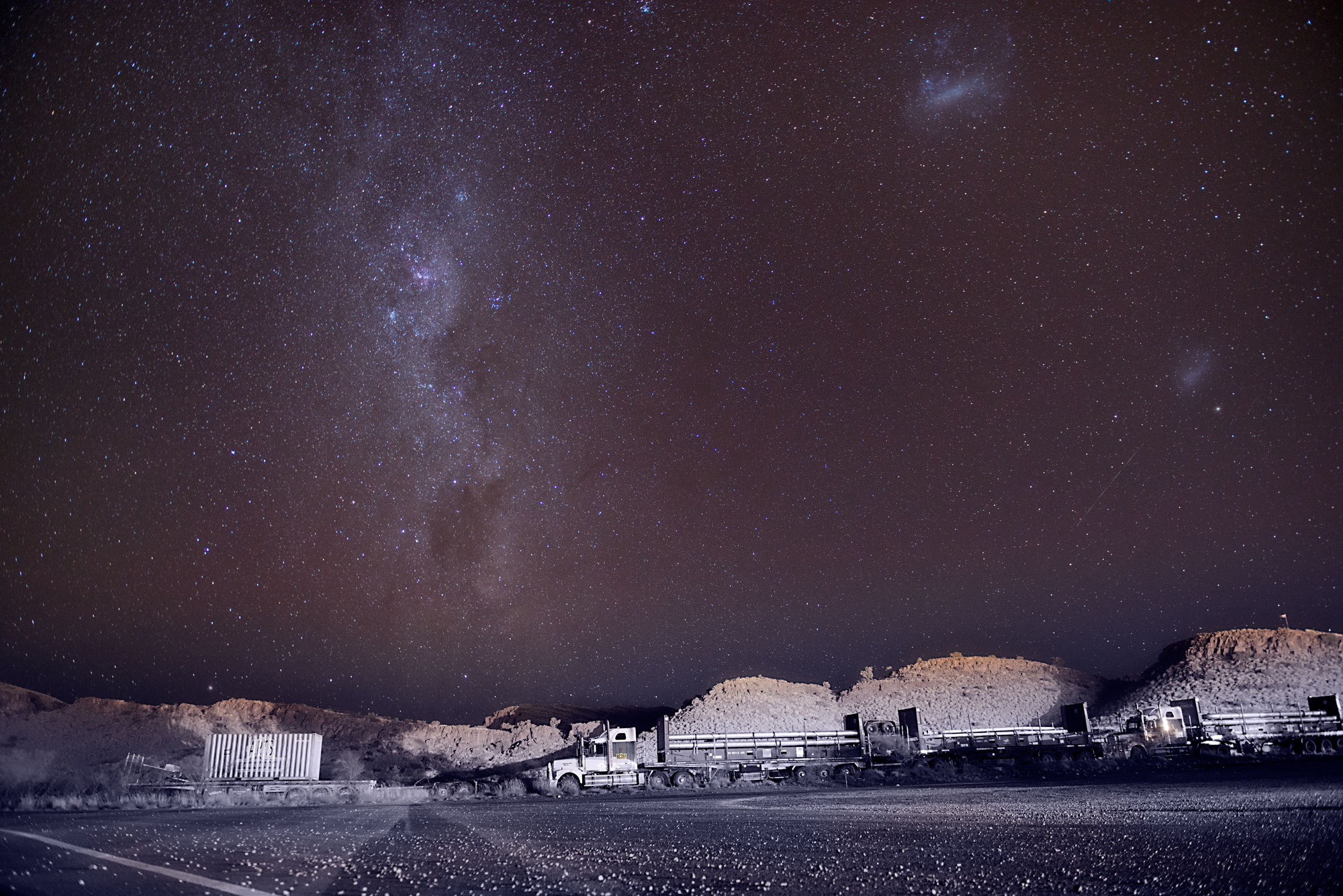 Photograph truck stop by shane schilders on 500px