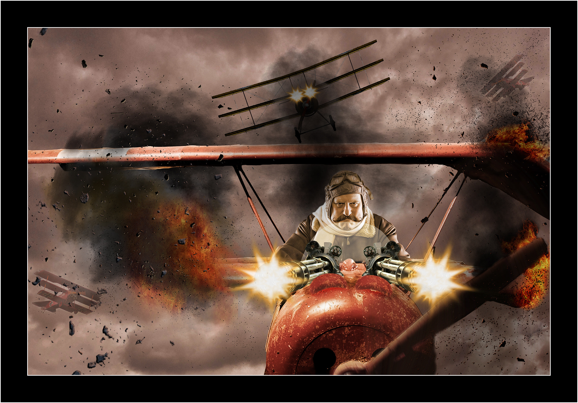 Photograph The New Red Baron! by Kevin Sharpe on 500px