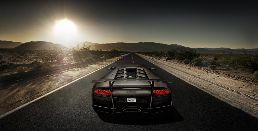 Photograph car photography lamborgini SV by Tim Wallace on 500px