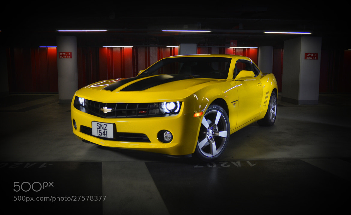 """Photograph Chevy Camaro """"Bumble-Bee"""" by Russell Pritchard on 500px"""