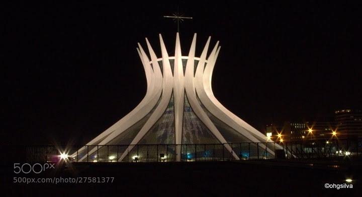Photograph Catedral de Brasília by Oswaldo Henrique on 500px