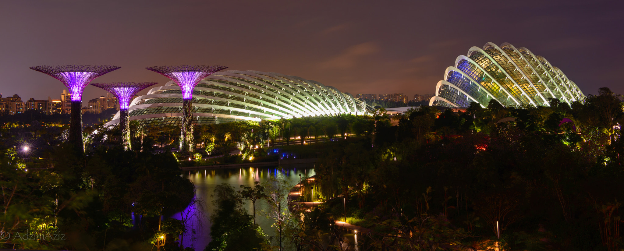Photograph Garden by the bay by Adzim Aziz on 500px