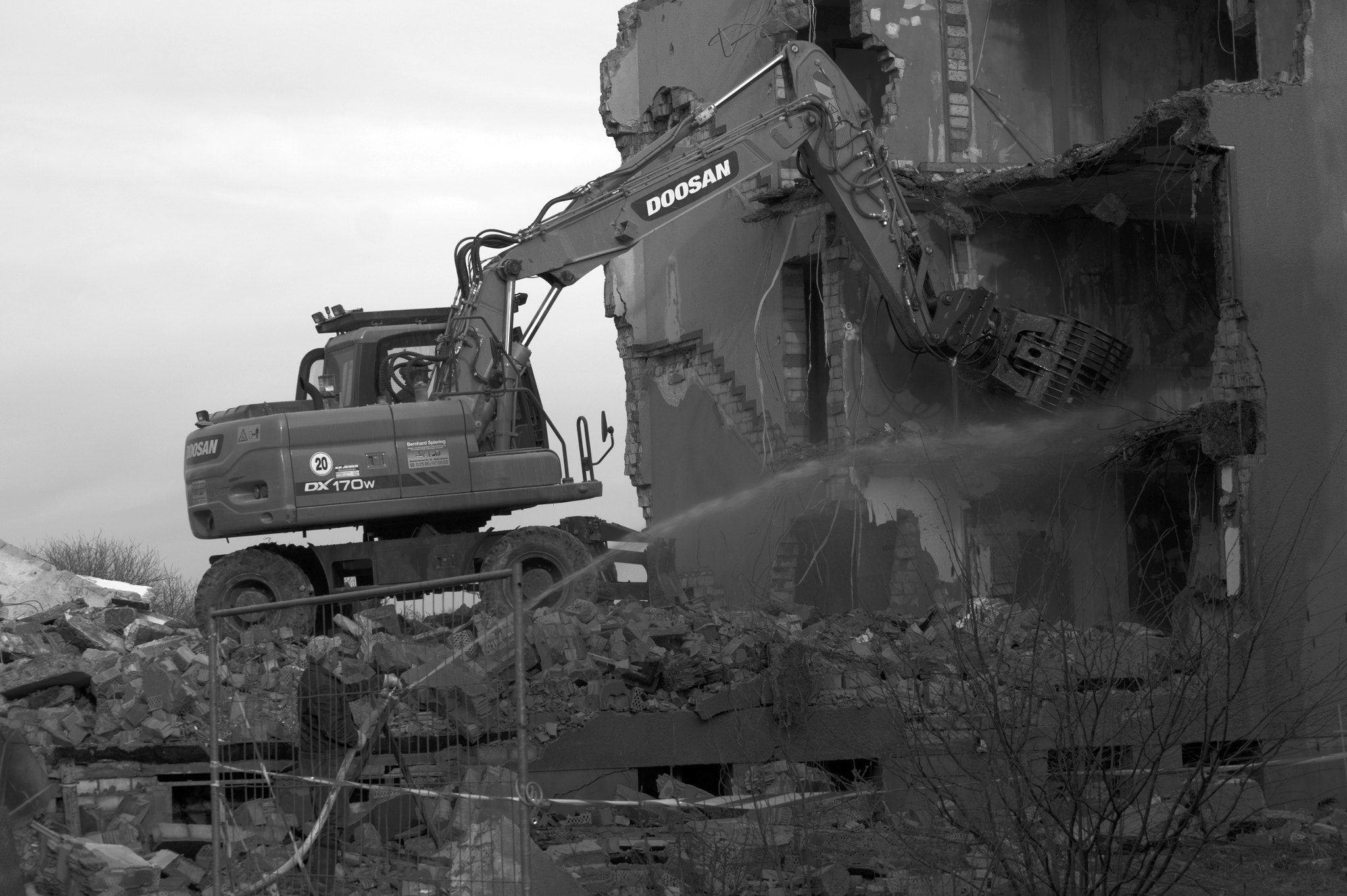 Photograph Demolition work by Tim  Taylor on 500px
