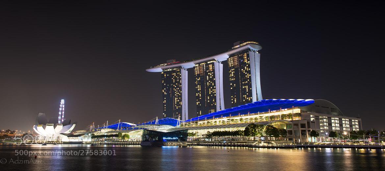 Photograph Marina Bay Sands by Adzim Aziz on 500px