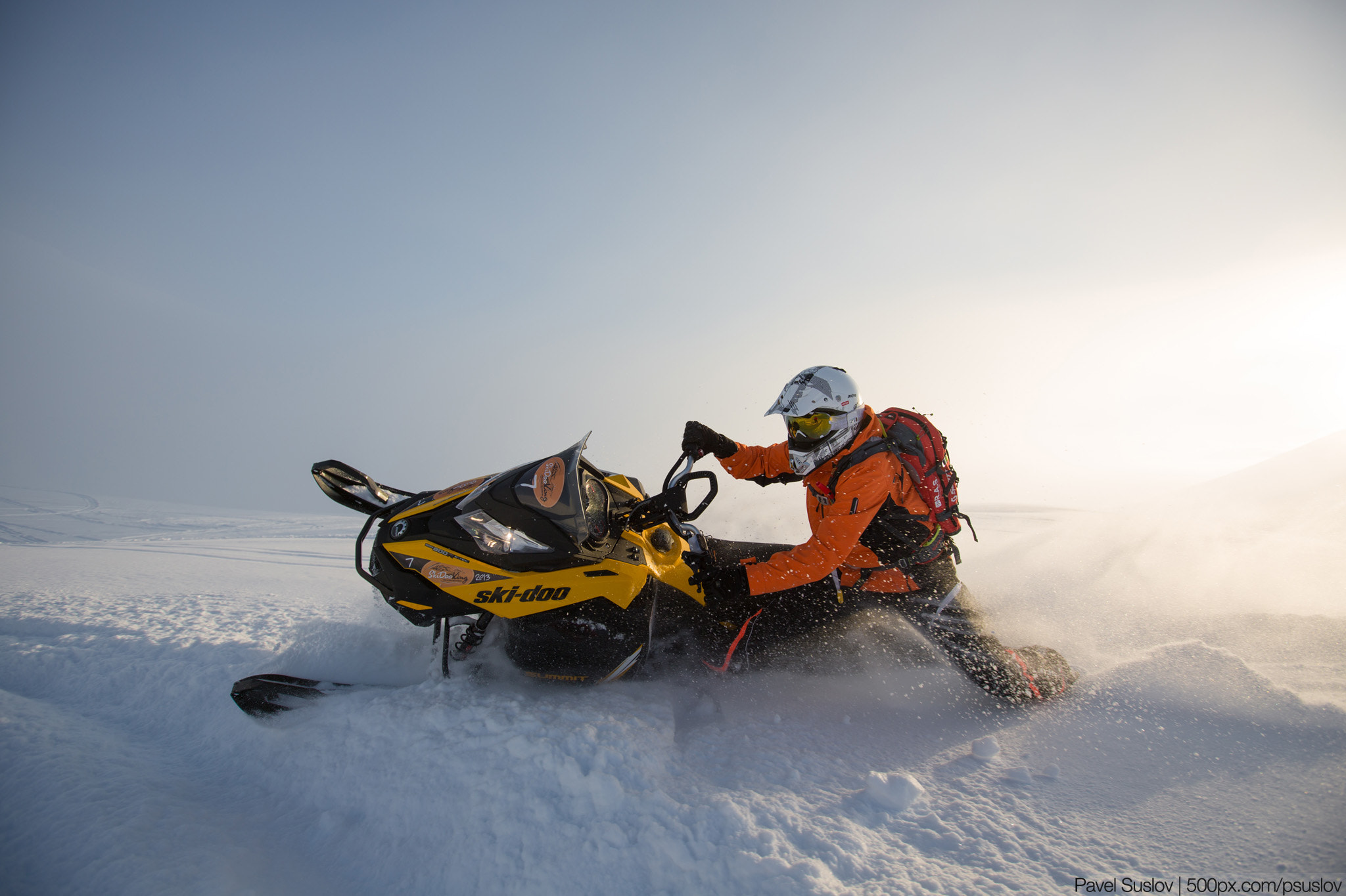 Photograph Ski-Doo Summit 154 2013 by Pavel Suslov on 500px