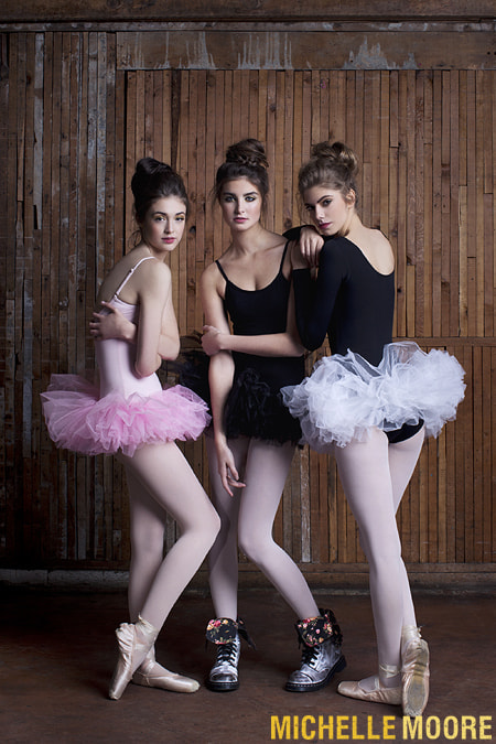 Photograph Three Ballerinas by Michelle Moore on 500px