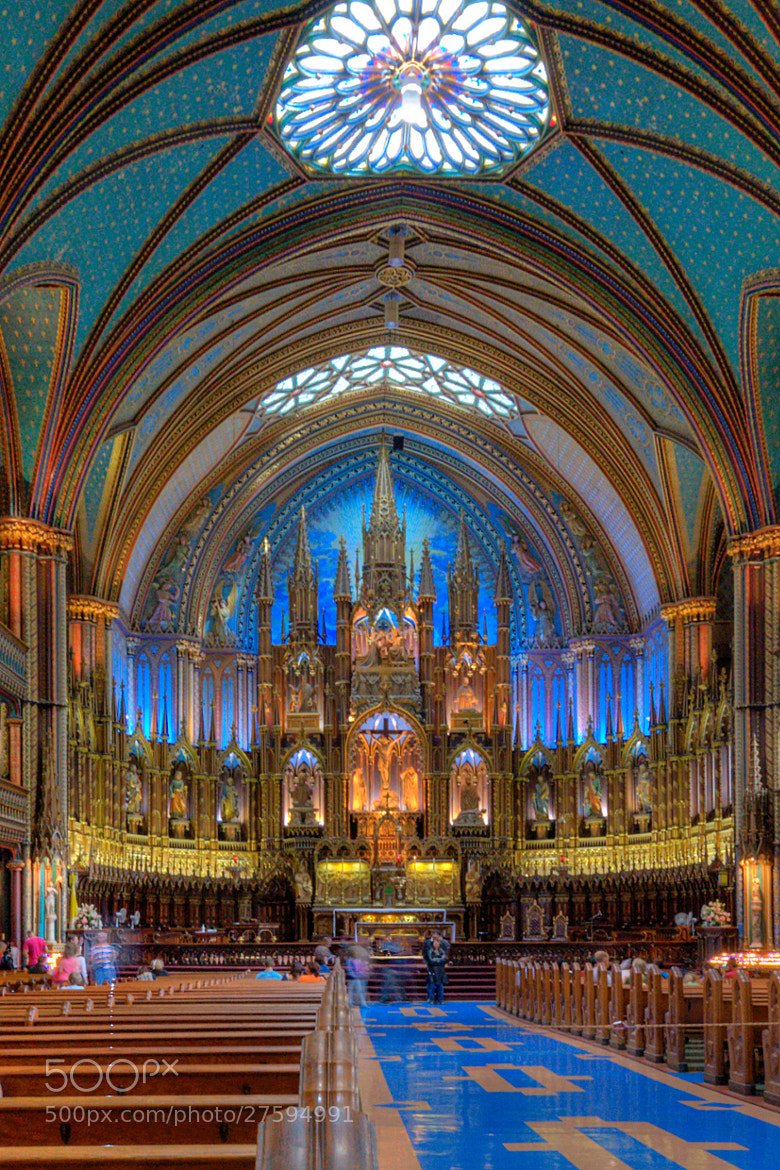 Photograph Notre Dame of Montreal by Alessandro Crea on 500px