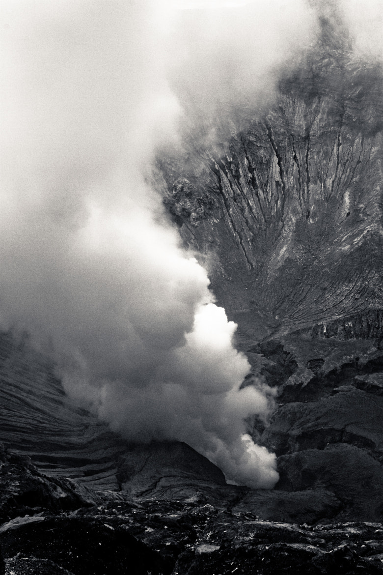 Photograph Mount Bromo heart by Olivier Bergeron on 500px