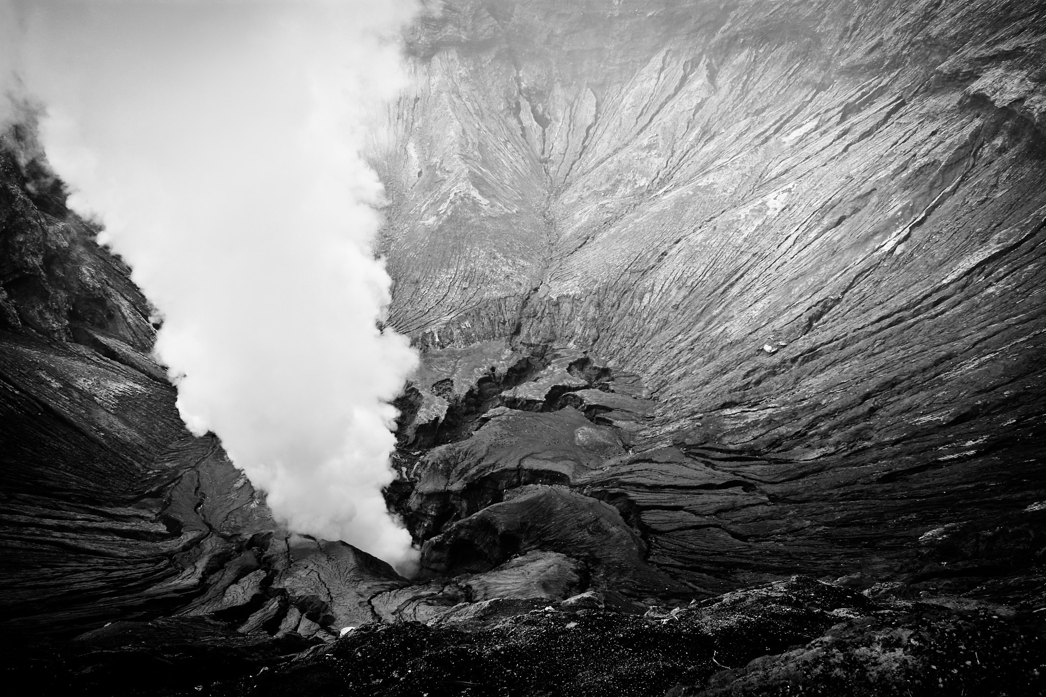 Photograph Inside Mount Bromo by Olivier Bergeron on 500px