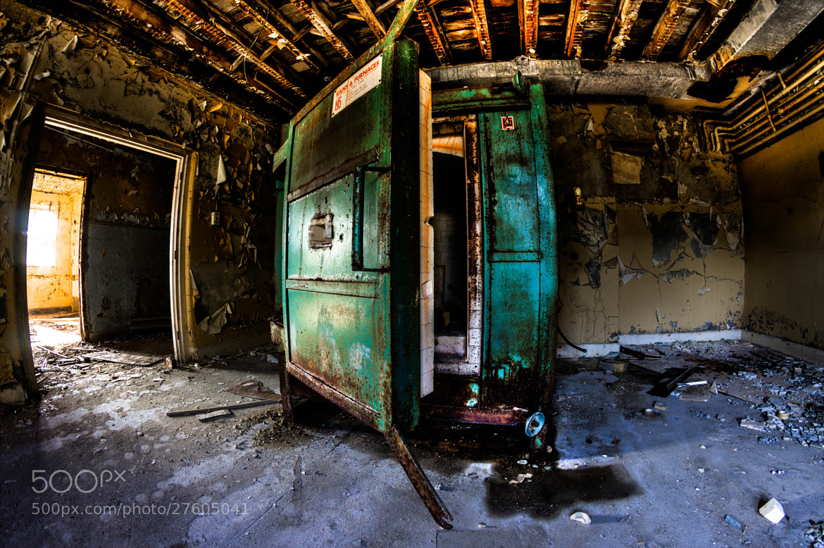 Photograph Westmount college abandoned Kiln by kevin bird on 500px