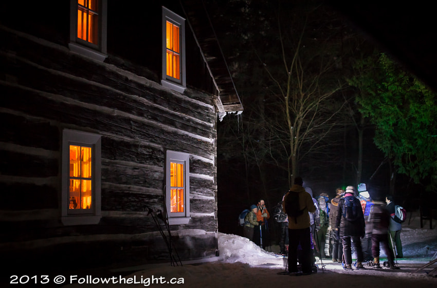 Photograph Snowshoeing back home by Alain Leury on 500px