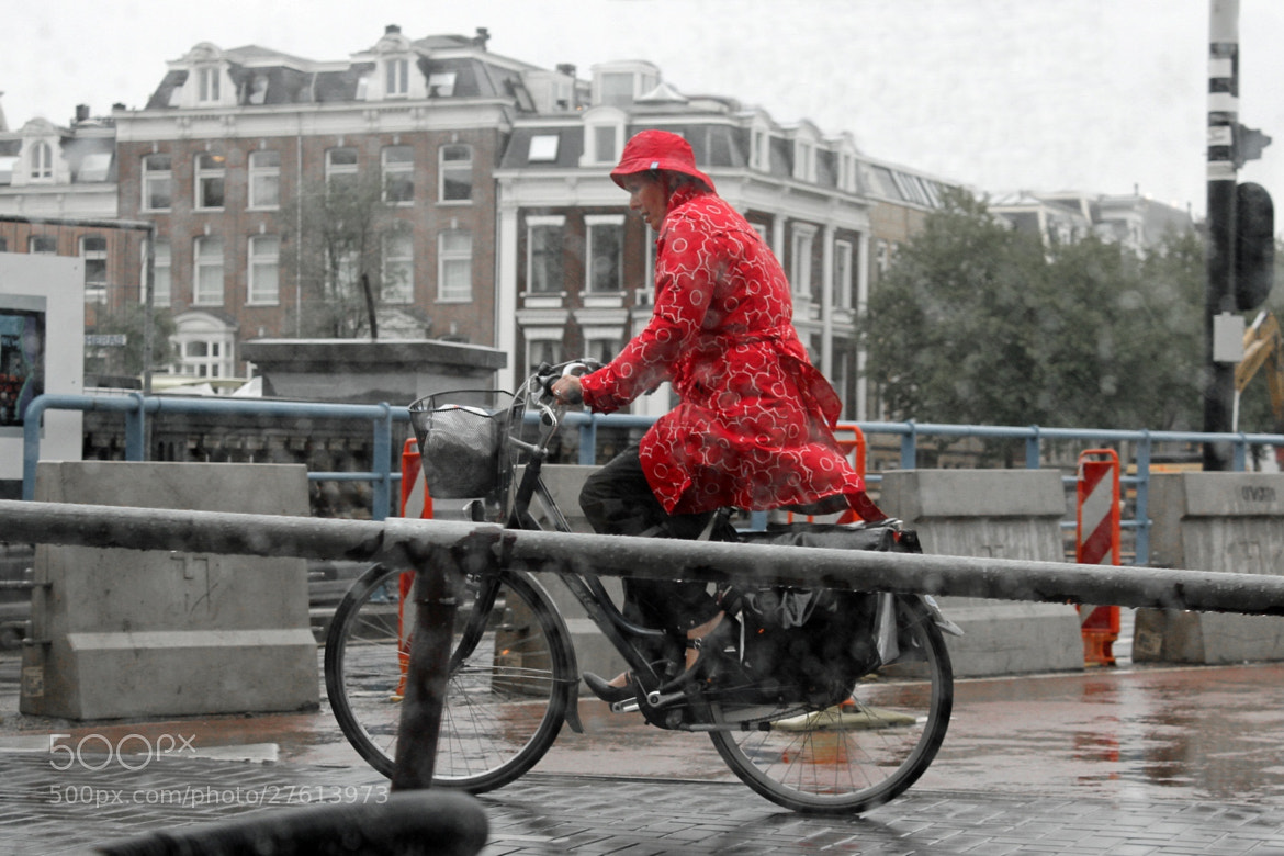 Photograph Red raincoat by Vince Lane on 500px
